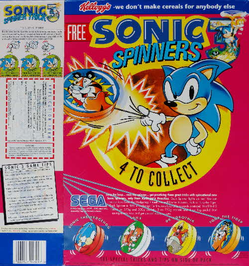 1994 Frosties Sonic Spinners