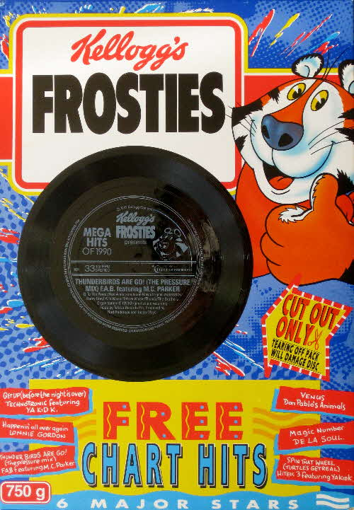1990 Frosties Mega Hits Records front