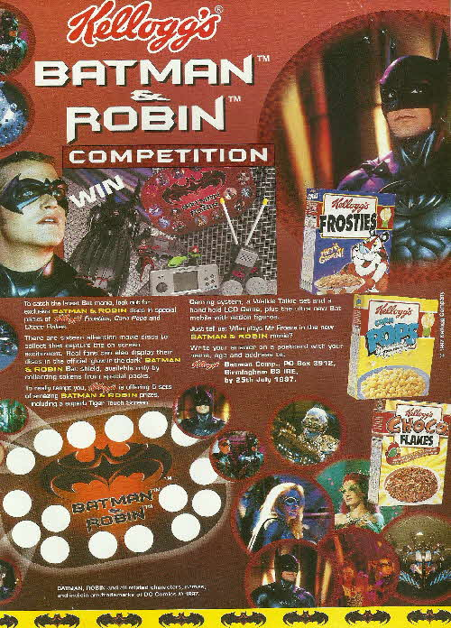 1997 Frosties Batman & Robin Discs (1)