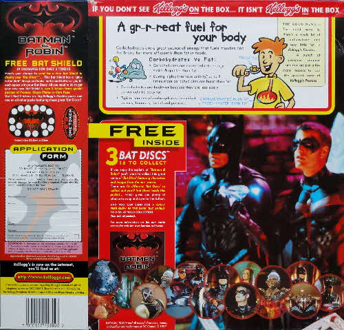 1997 Frosties Batman Discs