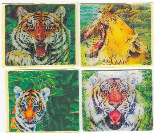 1996 Frosties Eye of Tiger Holograms and Tiger Story book