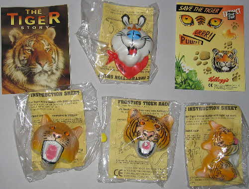 1996 Frosties Eye of the Tiger Badges1