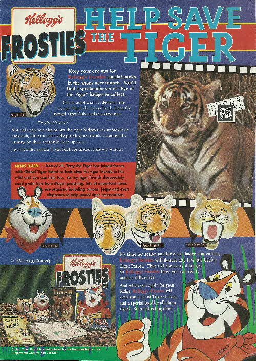 1996 Frosties Tiger Badges (2)