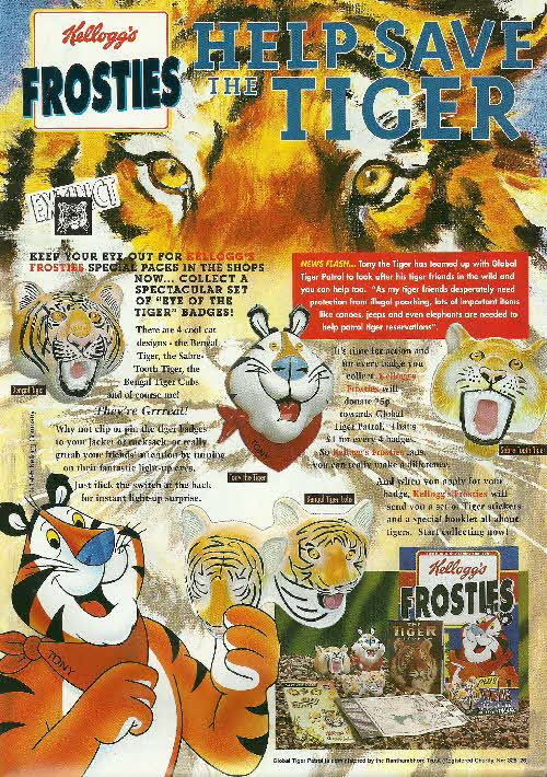 1996 Frosties Tiger Badges (3)