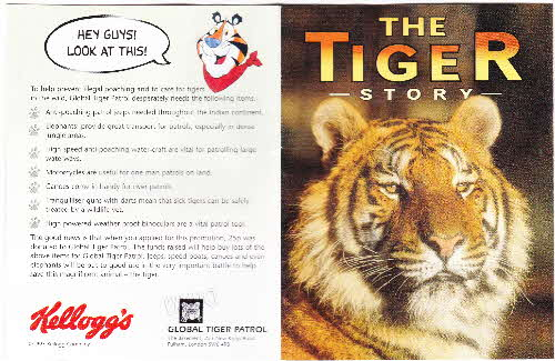 1996 Frosties Tiger Story book (1)