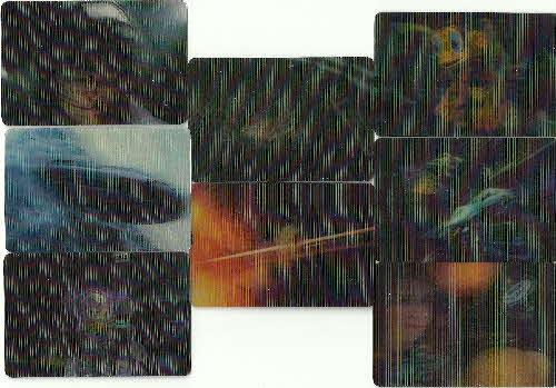 1998 Frosties Lost in Space 3D Action Lenticular card (1)
