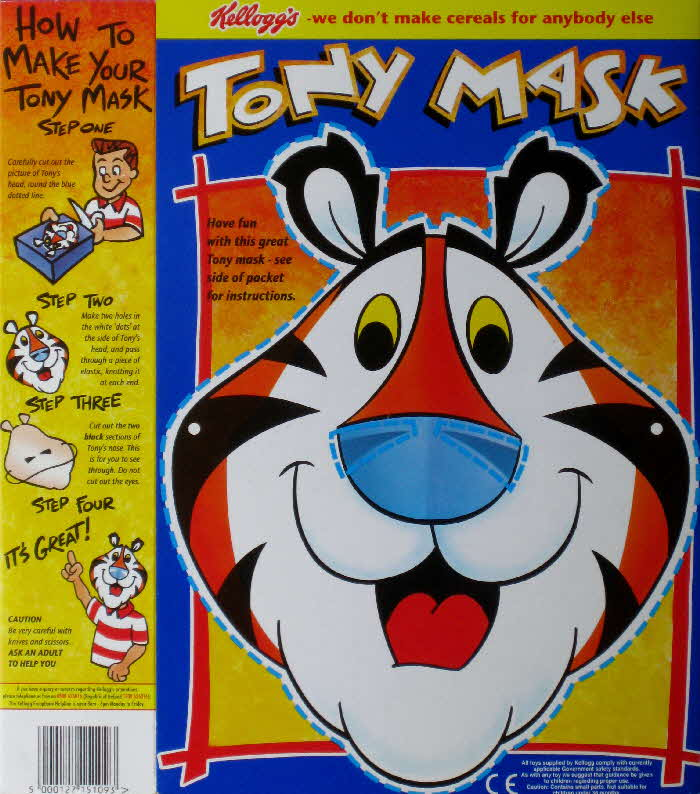 1997 Frosties Tonys Mask
