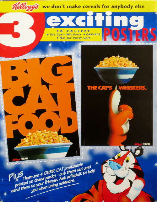 1996 Frosties Exciting Poster & Postcards - Double pack (2)