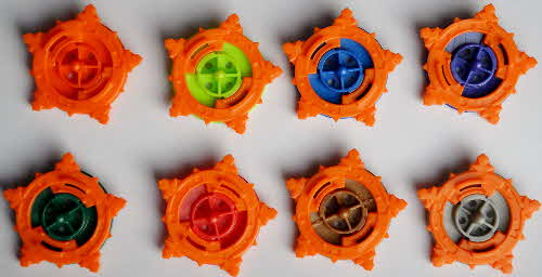 2002 Coco Pops Beyblades - base variations