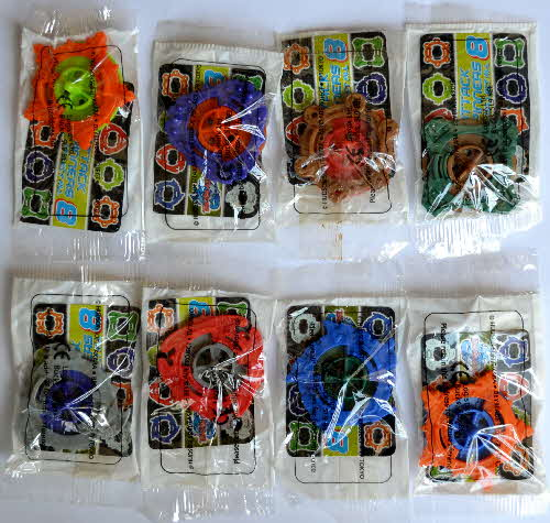 2002 Coco Pops Beyblades mint