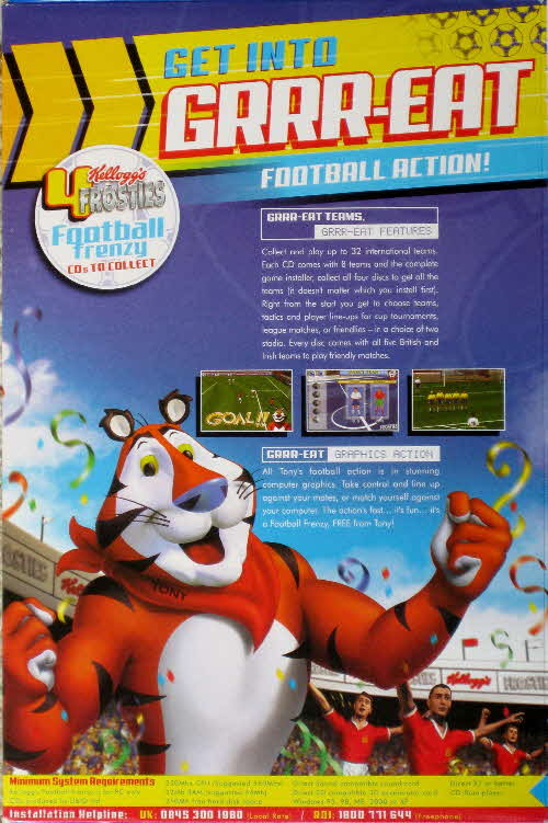 2002 Frosties Football Game CD Rom (2)