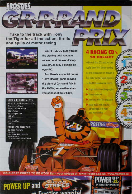 2003 Chocolate Frosties Grand Prix Racing Game (2)