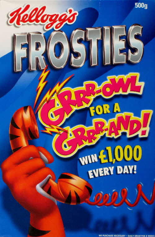 2001 Frosties Growl for a Grand front