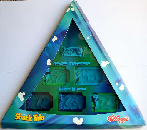 2004 Kelloggs Promotional Shark Tale Water Mazes (1)