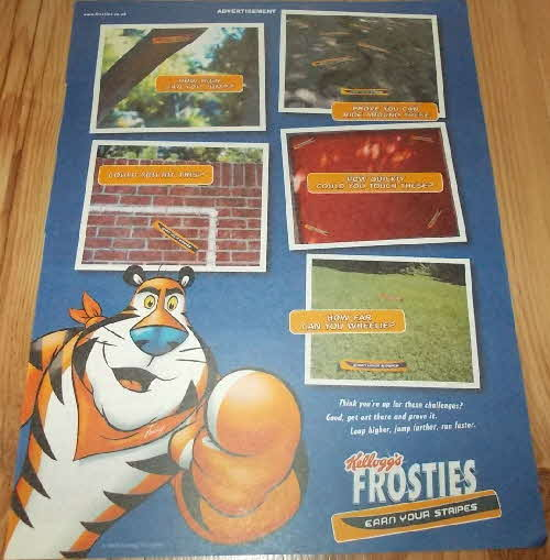 2003 Frosties Earn Your Stripes Stickers (1)