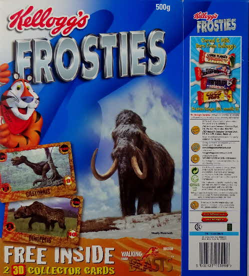 2001 Frosties Walking with Beasts Sabre Tooth (2)