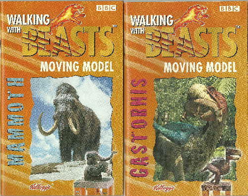 2001 Frosties Walking with Beasts book 1 & 2 (1)