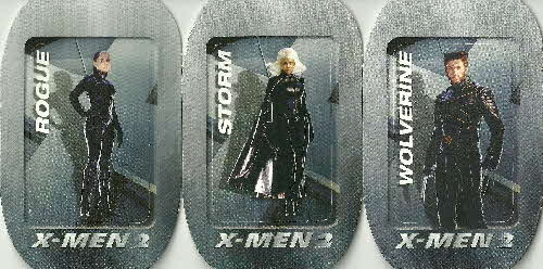 2003 Frosties X Men 2 Tags (2)