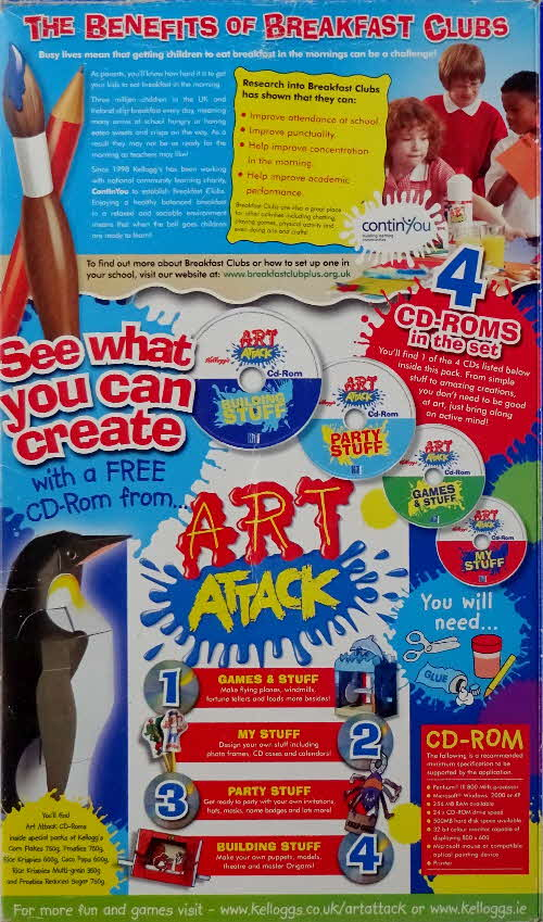 2006 Frosties Art Attack CD Rom (2)