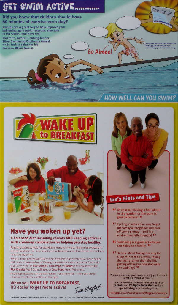 2007 Frosties Wake up to Breakfast