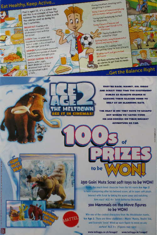 2006 Frosties Ice Age 2 Competition