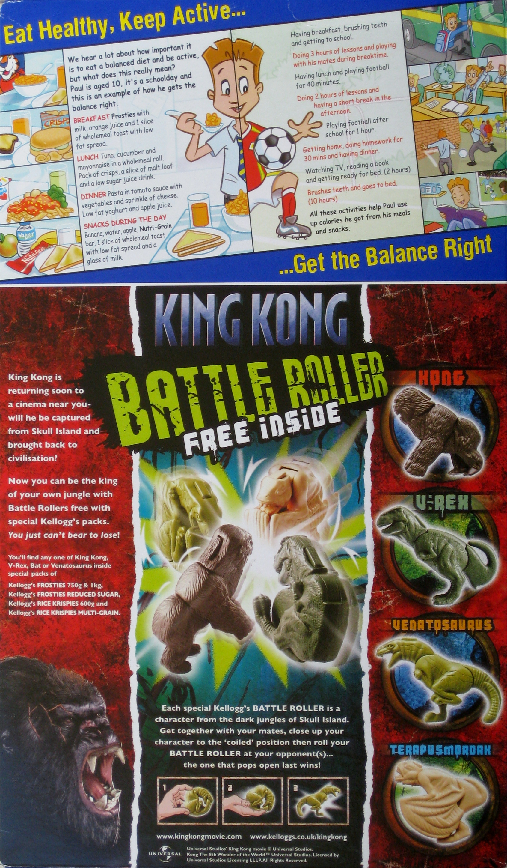 2005 Frosties King Kong Battle Rollers1