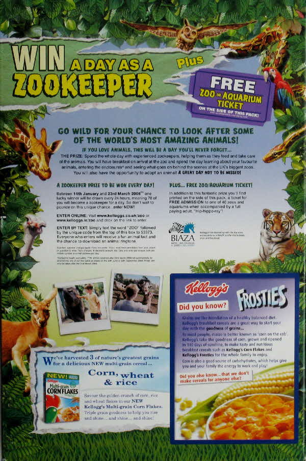 2008 Frosties Zookeeper competition