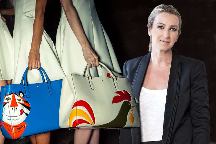 2014 Frosties Handbags at Dawn Flakes Anita Hindmarch bag