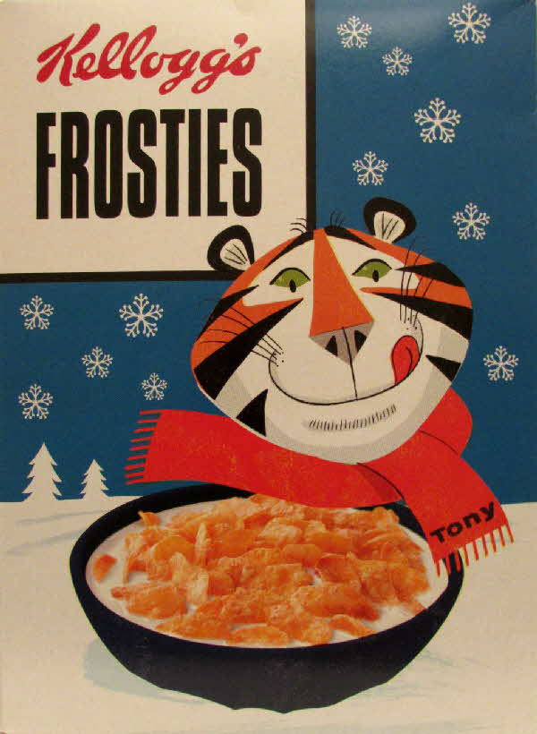 2014 Frosties packet Special edition