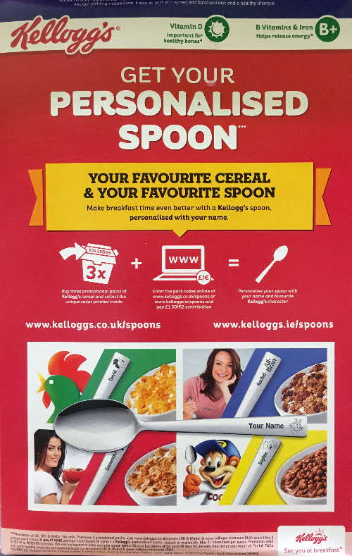 2015 Frosties Personalised Spoons (1)