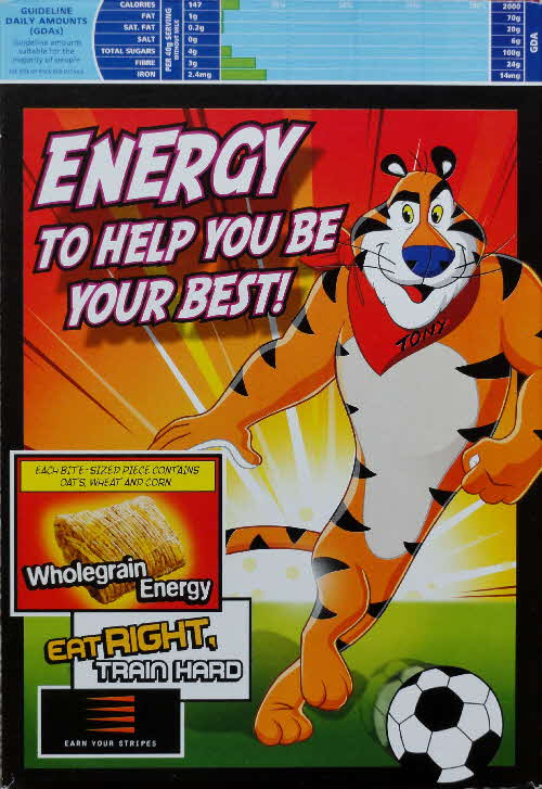 2005 Kelloggs Tiger Power New back