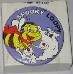 1991 Honey Nut Loops Musical Loopy badges2
