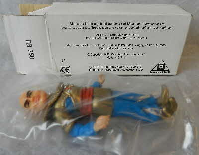 1993 Honey Nut Loops Thunderbirds Action figures - Hood