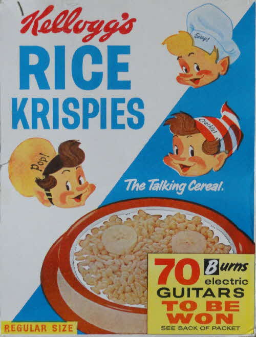 1970s Rice Krispies Electro guitars competition