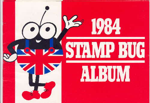 1984 Rice Krispies Heraldry Stamp Bug Club Album