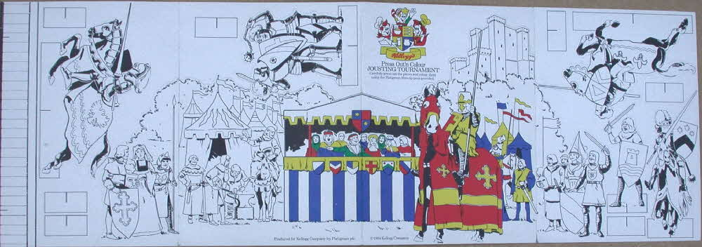 1984 Rice Krispies Heraldry Stamp send away colouring set (4)