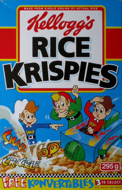1995 Rice Krispies Konvertables front Hovercraft
