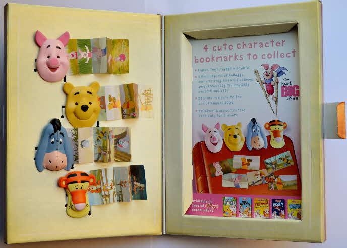 2003 Kelloggs Promotional Piglet the Movie Bookmarks (2)