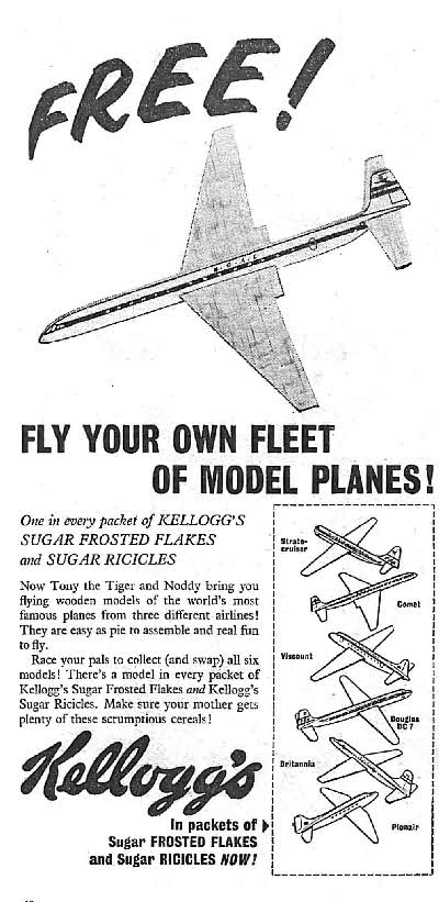 1956 Ricicles Model Wooden Planes 2
