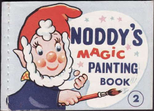 1965 Ricicles Noddys Magic Painting Book  No 2