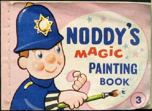 1965 Ricicles Noddys Magic Painting Book No 3