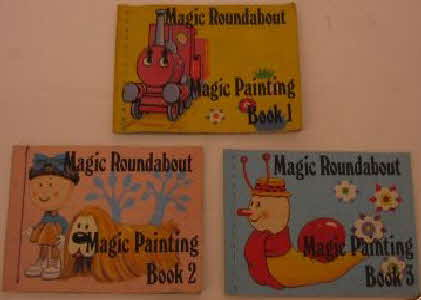 1969 Ricicles Magic Roundabout Painting Book (betr)