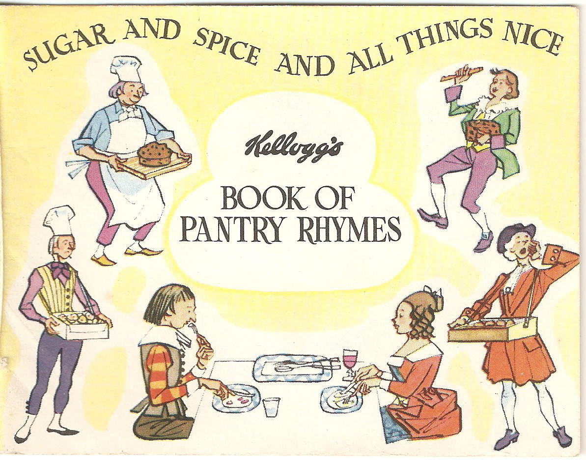 1961 Ricicles Nursery Rhymes Books - Pantry 9