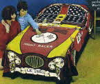 1967 Ricicles Racing Car Bedspread1 small