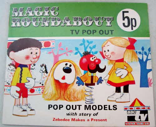 1973 Ricicles Magic Roundabout Pop Out Storybook (betr) (1)