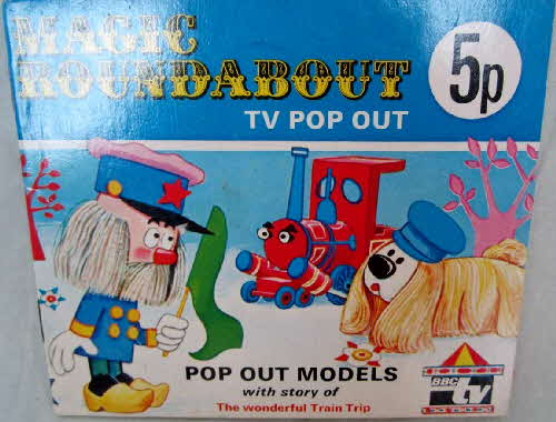 1973 Ricicles Magic Roundabout Pop Out Storybook (betr) (2)