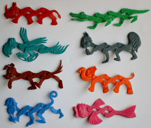 1970s Ricicles Stretch Pets Set (1)