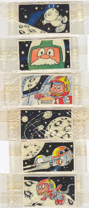 1989 Ricicles Capt Rick space stickers