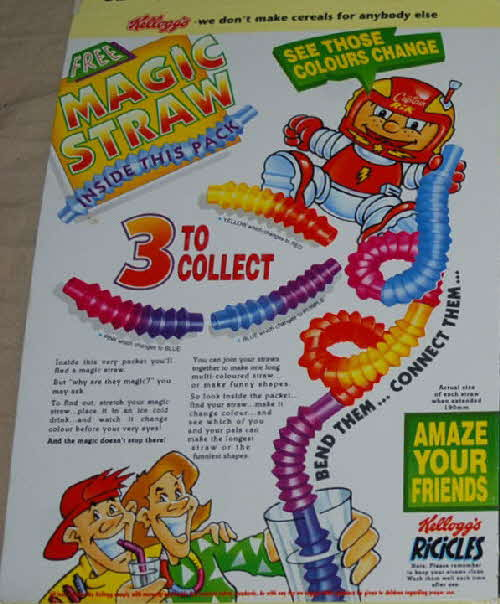 1993 Ricicles Magic Straws (1)