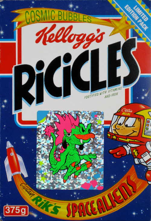 1994 Ricicles Space Alien stickers (1)